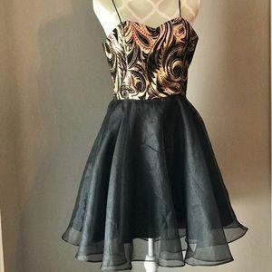 🇨🇦Vintage Dress Prom/Grad With Crinoline